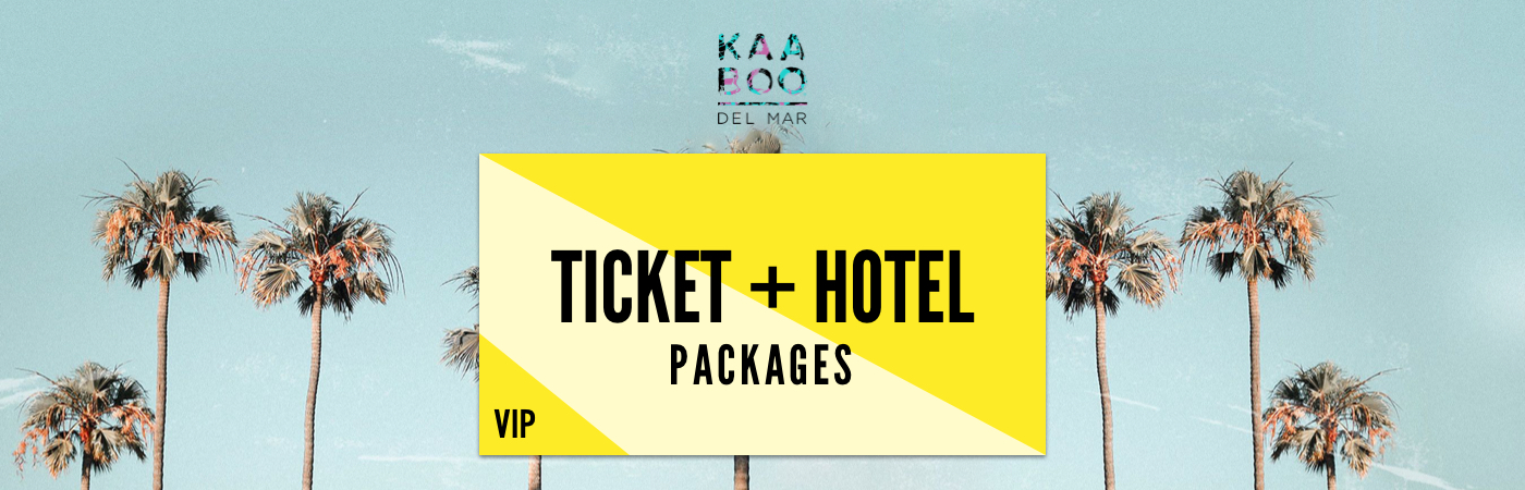 KAABOO Del Mar VIP Ticket + Hotel Packages