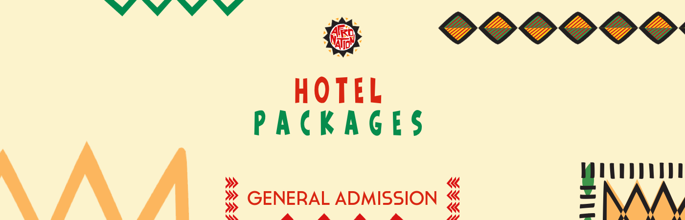 Afro Nation GA Ticket + Hotel Packages