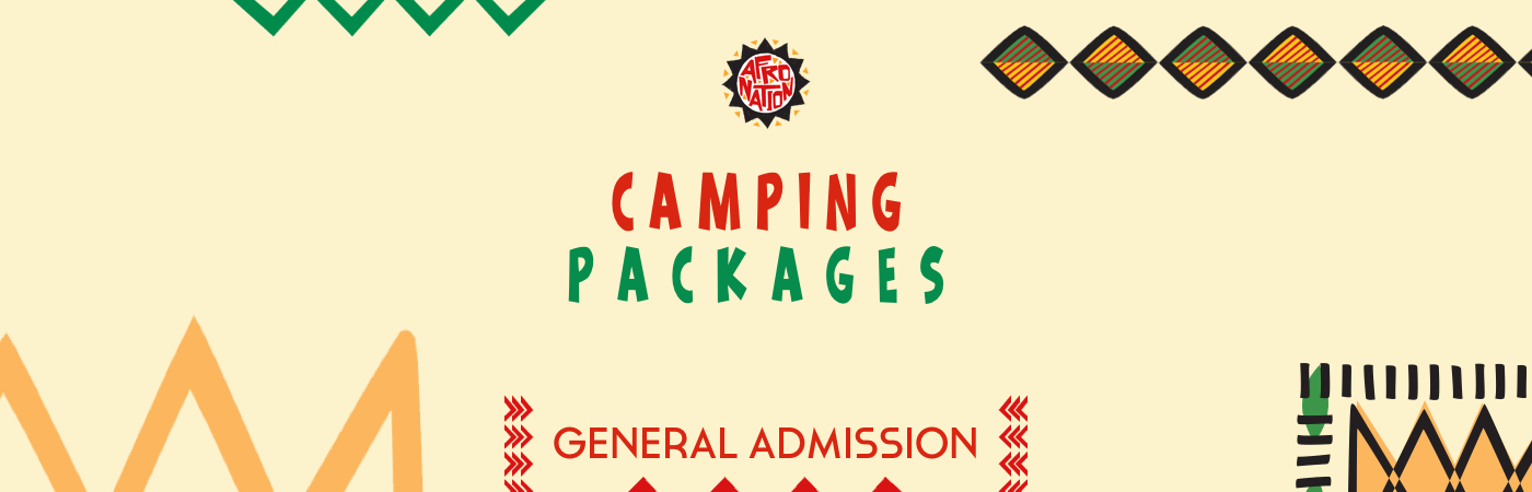 Afro Nation GA Ticket + Camping Packages