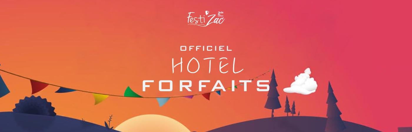 Festi'Zac Ticket + Hotel Packages