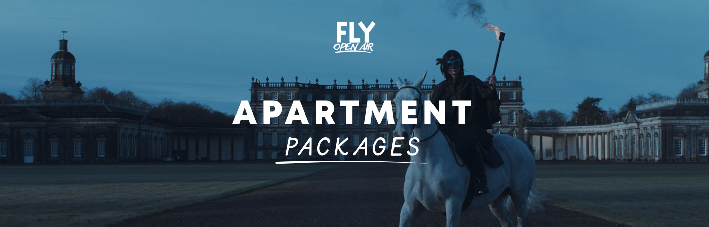 Packs Entrada + Apartamento FLY Open Air