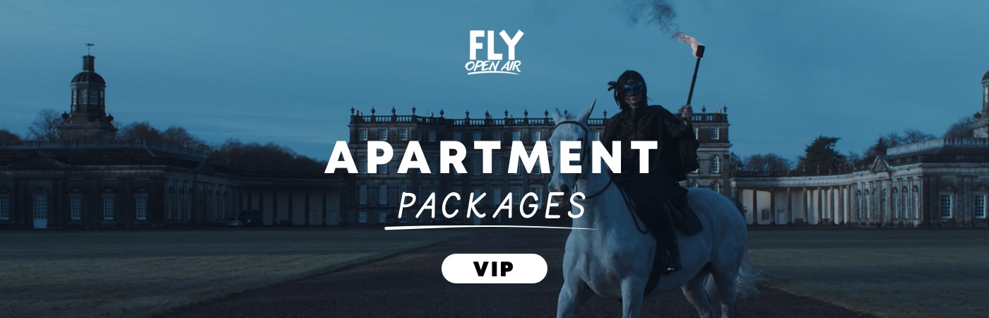 Packs Entrada VIP + Apartamento FLY Open Air