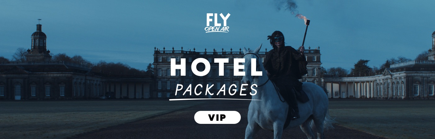 Packs Entrada VIP + Hotel FLY Open Air