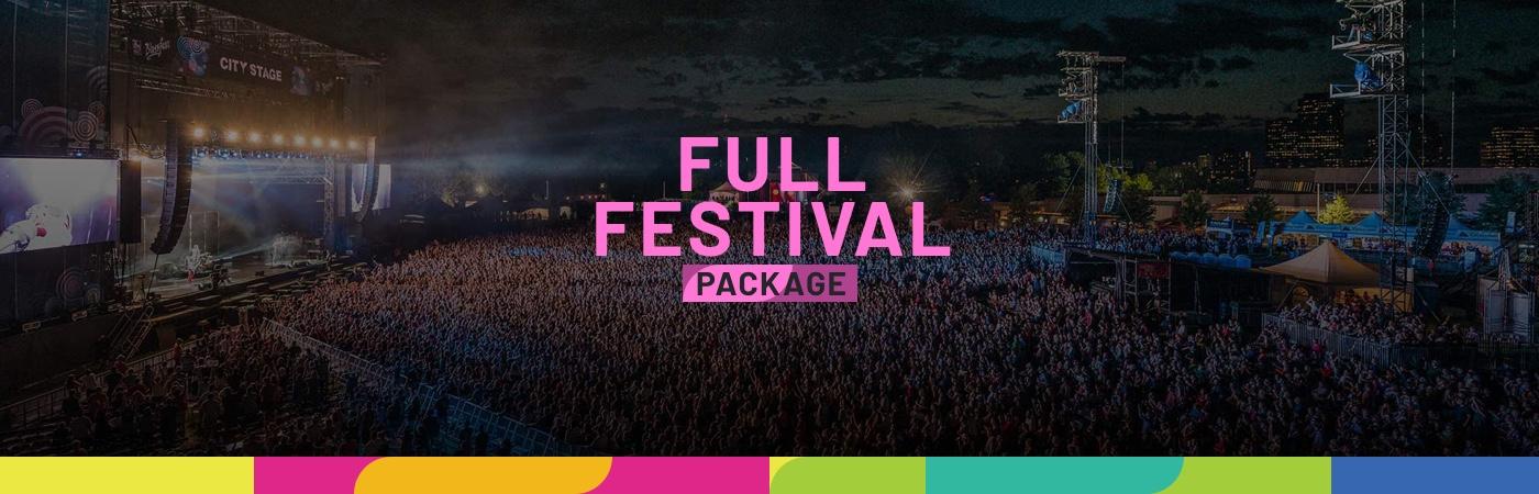 RBC Ottawa Bluesfest Ticket + Hotel Packages - Full Festival