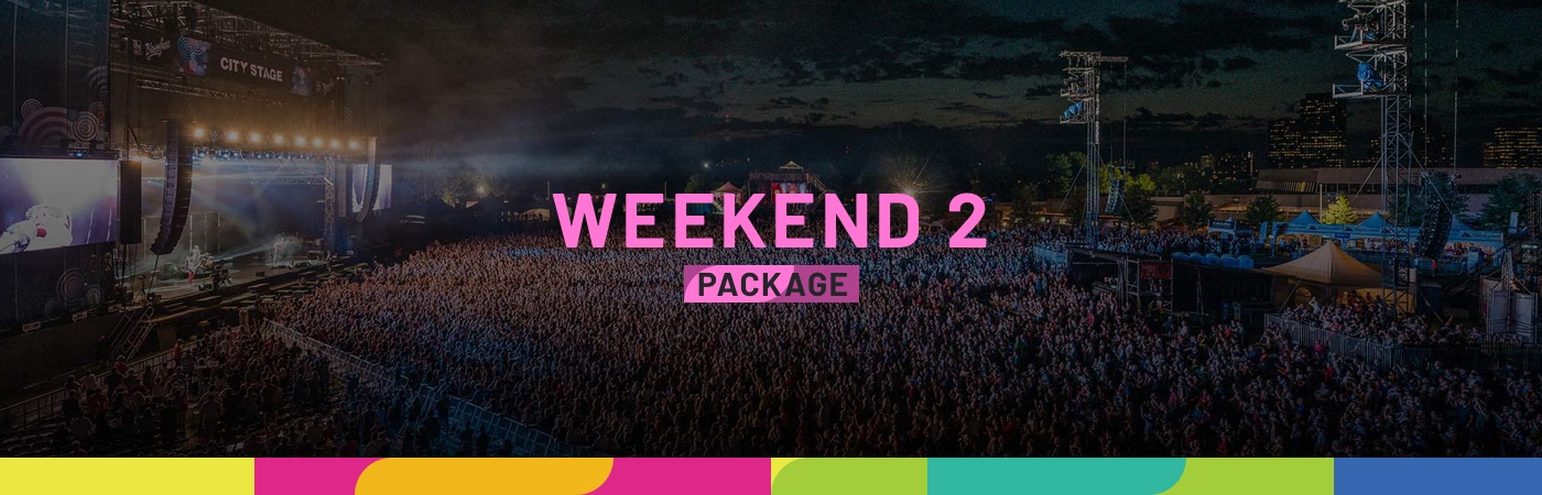 RBC Ottawa Bluesfest Ticket + Hotel Packages - Weekend 2