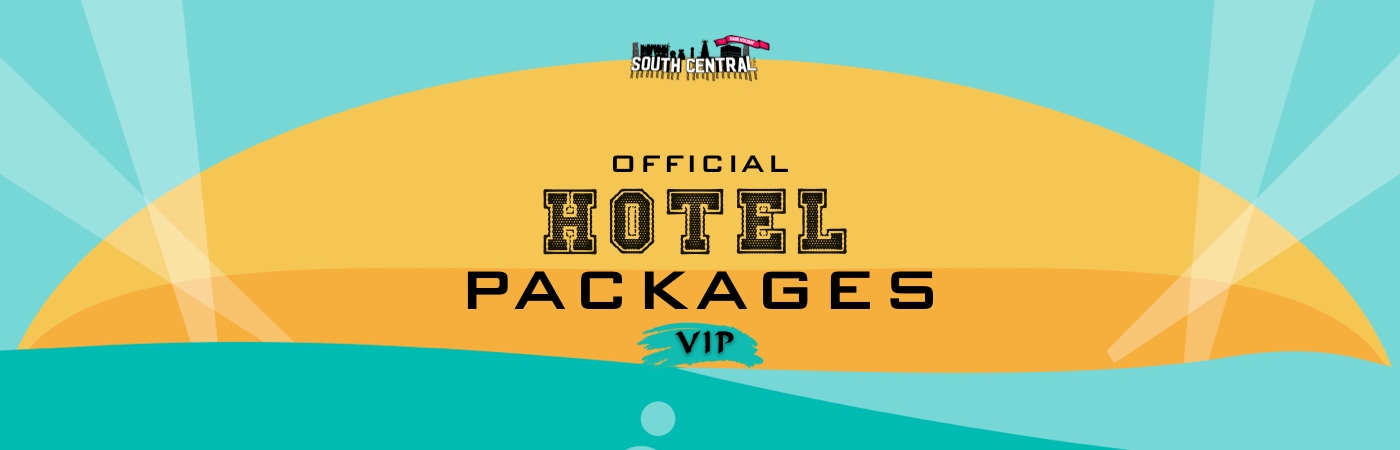 South Central Festival: Pacotes com Bilhete VIP + Hotel