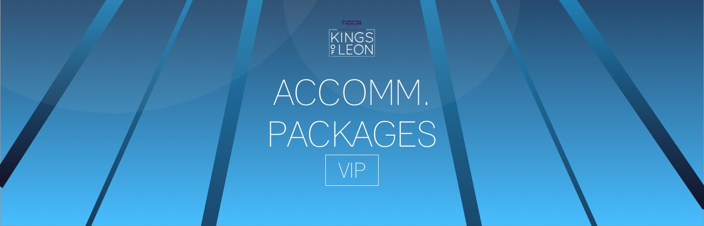 Fusion Presents VIP Ticket + Hotel Packages