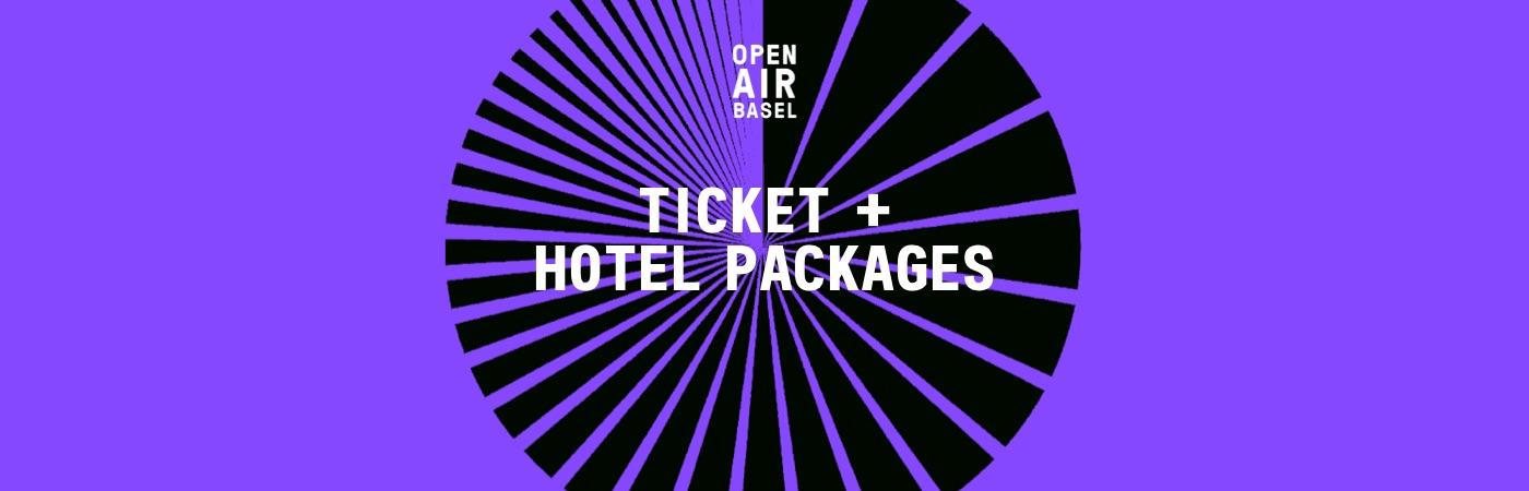 Open Air Basel Ticket- und Hotel-Pakete