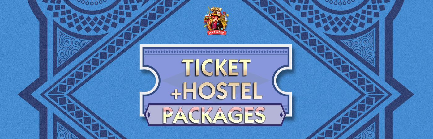 Elrow Town Antwerp Ticket + Hostel Package