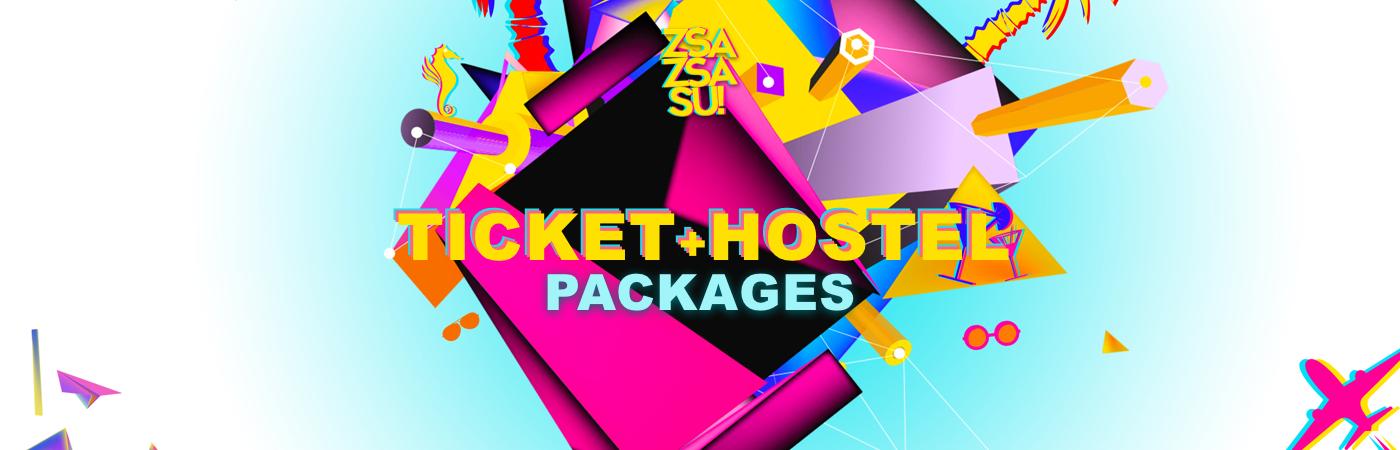 Zsa Zsa Su Festival 2019 Ticket + Hostel Pakketten