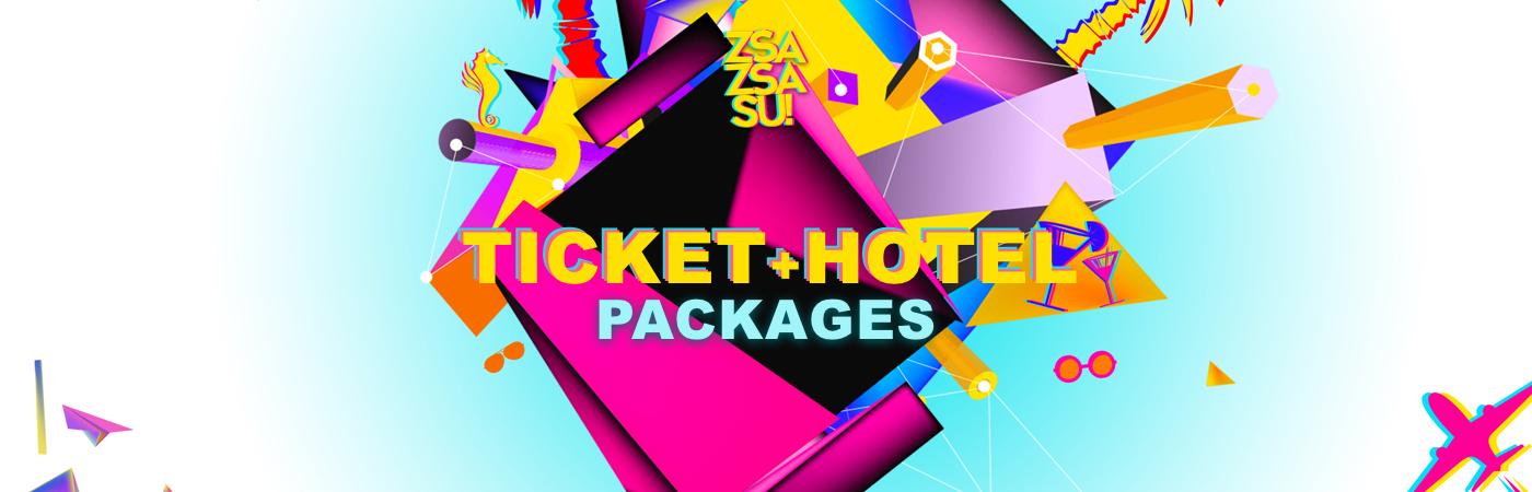 Zsa Zsa Su Festival 2019 Ticket + Hotel Pakketten