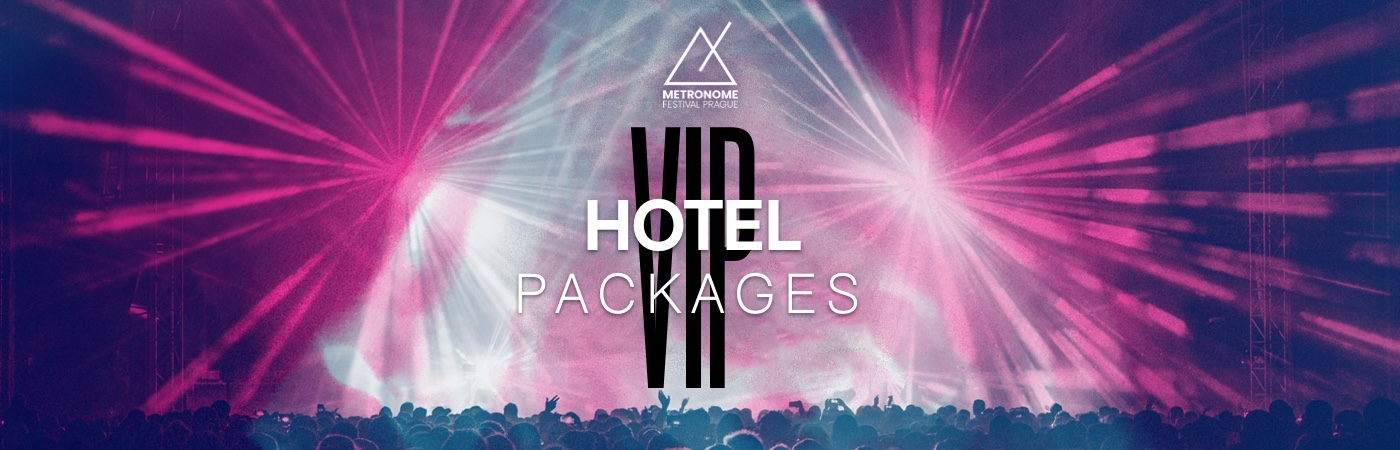 Metronome Festival Prague VIP Ticket + Hotel Packages