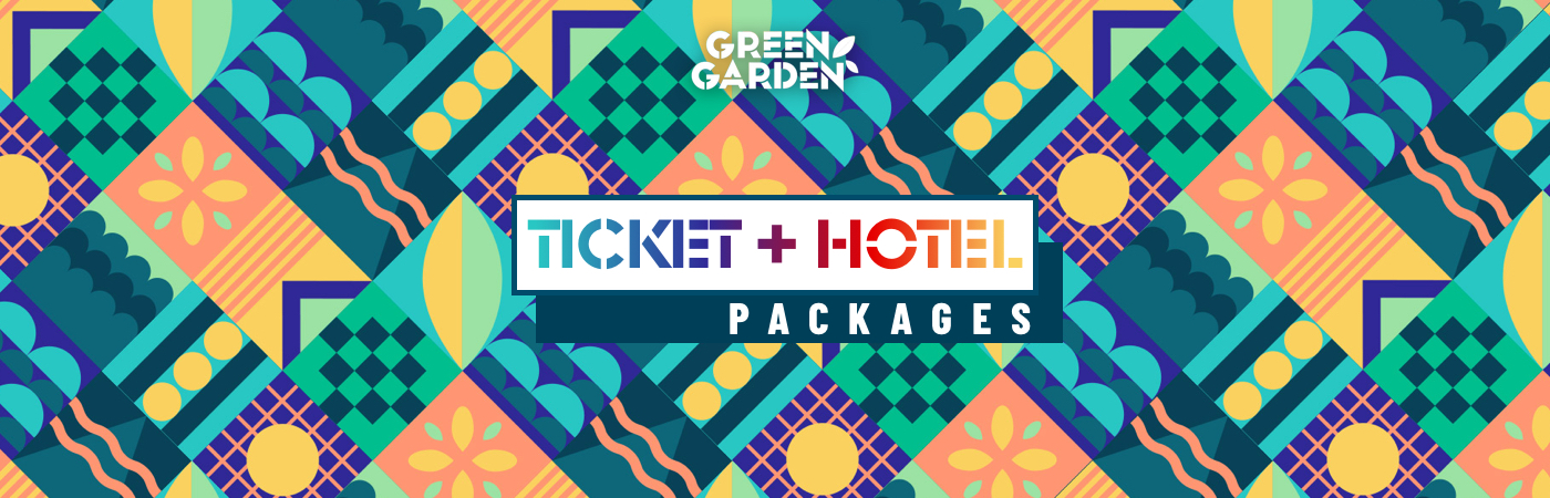 Green Garden Festival Ticket + Hotel Packages