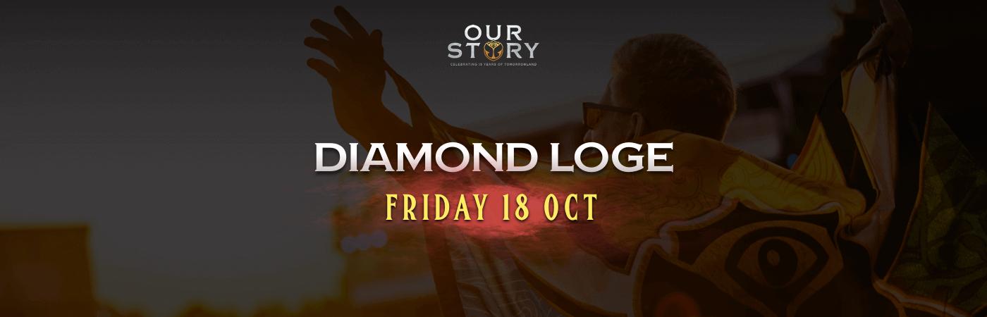 Friday Diamond Loge Ticket + Hotel Package