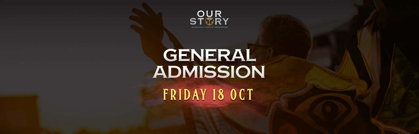 Friday General Admission Ticket + Hotel Package