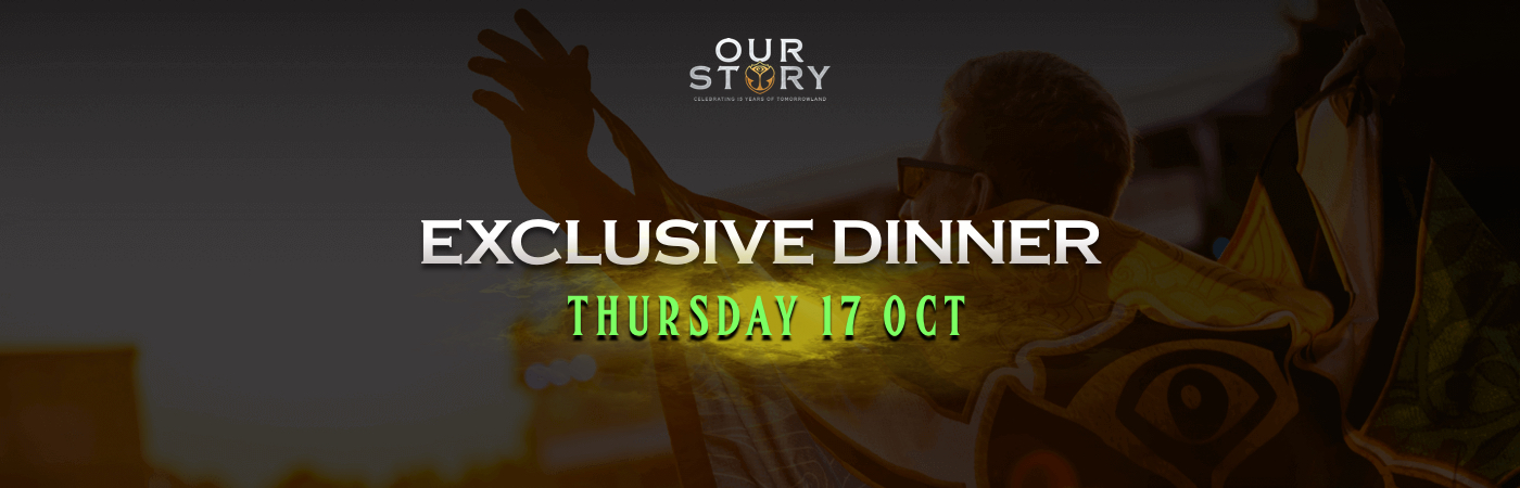 Thursday Exclusive Dinner Ticket + Hotel Package