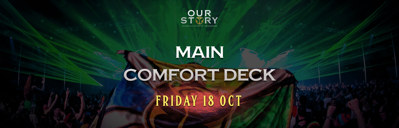 Friday Main Comfort Deck Ticket + Hotel Package