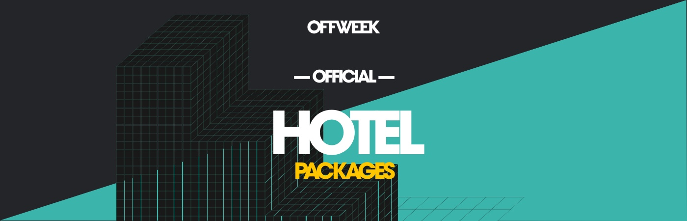 Off Week Festival Ticket- + Hotel-Pakete