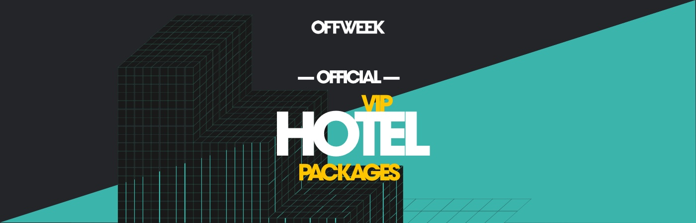 Off Week Festival VIP-Ticket- + Hotel-Pakete