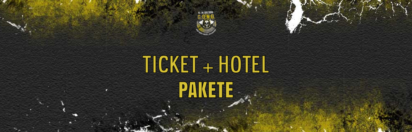 G.O.N.D. Festival Ticket + Hotel Packages