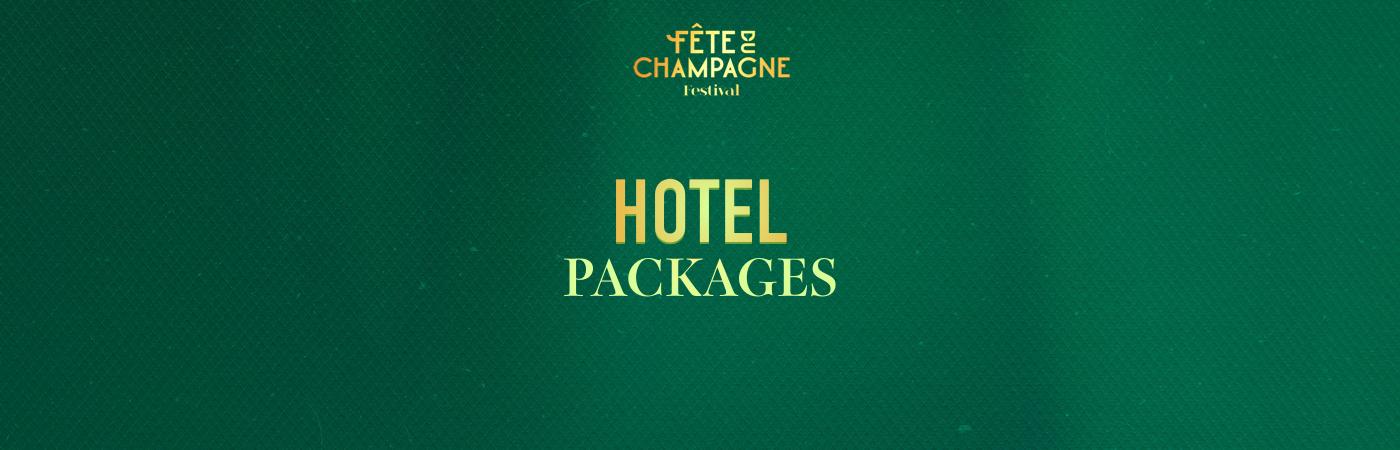 Fête du Champagne Festival Ticket + Hotel