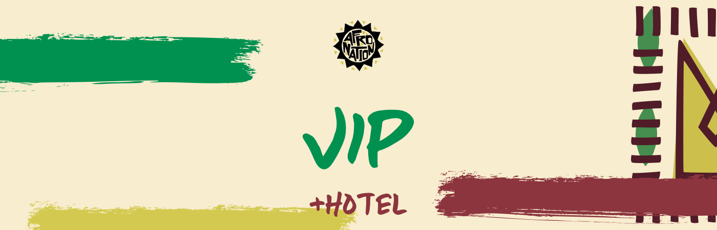 Afro Nation Ghana VIP Ticket + Hotel Packages