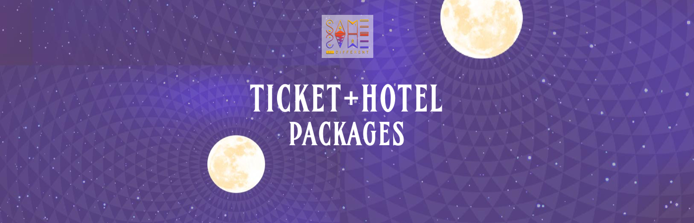 Same Same But Different Festival Ticket + Hotel Packages
