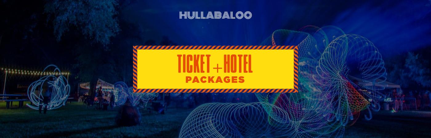 Hullabaloo Festival Ticket + Hotel
