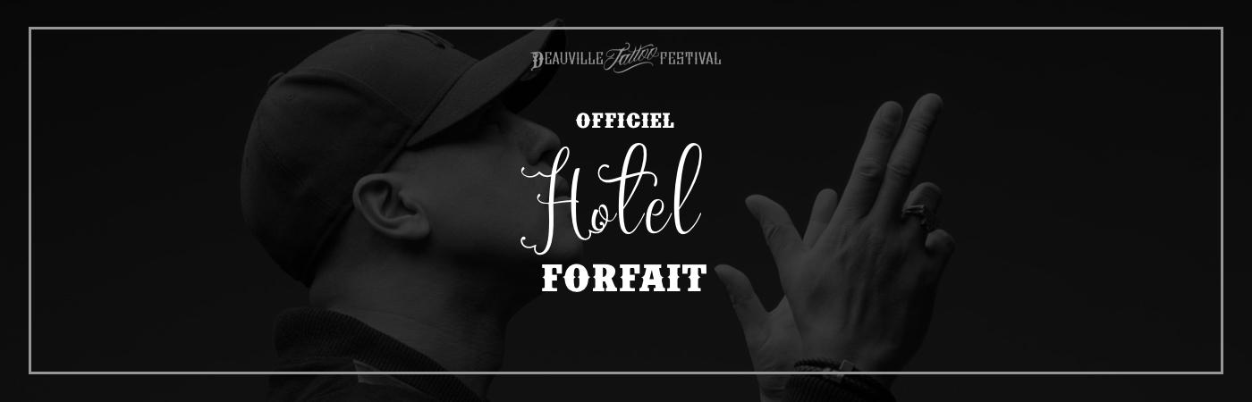 Packages Billet + Hôtel - Deauville Tattoo Festival