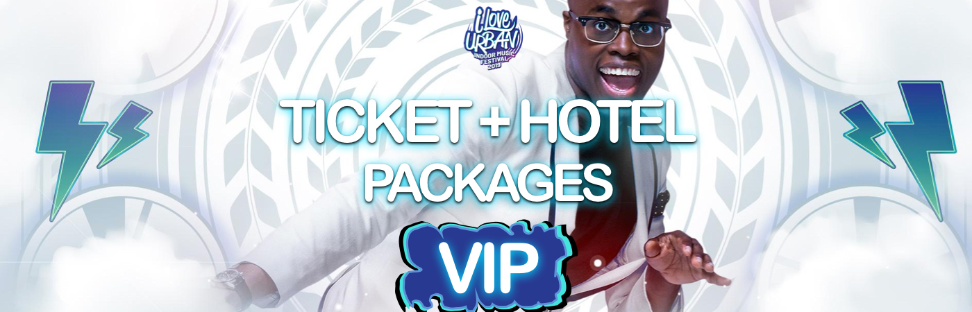 I Love Urban Indoor Music Festival VIP Ticket + Hotel Packages