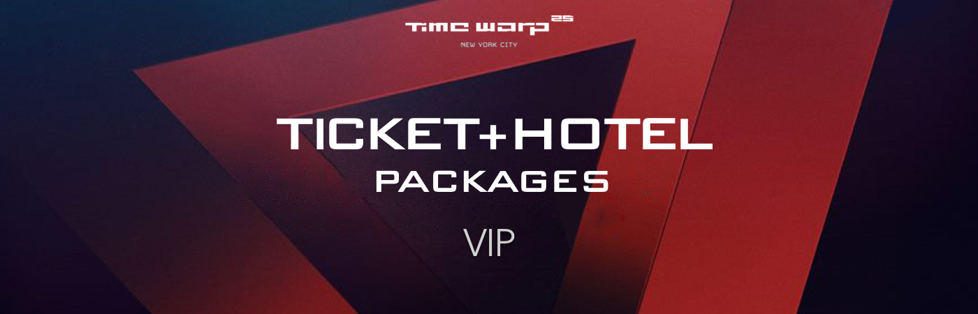 Time Warp USA VIP Ticket + Hotel Packages
