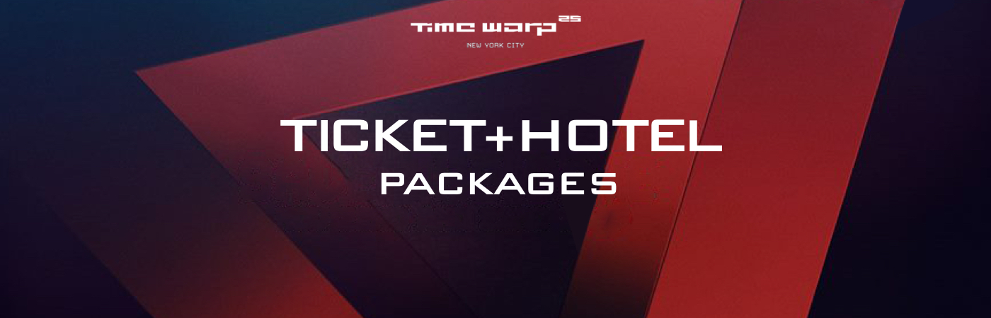 Time Warp USA Ticket + Hotel Packages