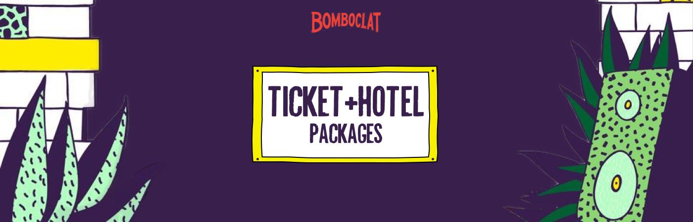 Bomboclat Festival Ticket + Hotel