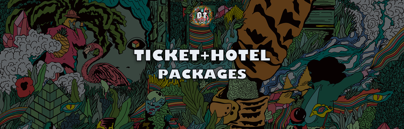 Deep Tropics Ticket + Hotel Packages