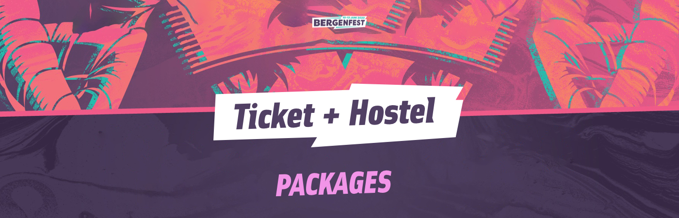 Bergenfest Ticket + Hostel Packages