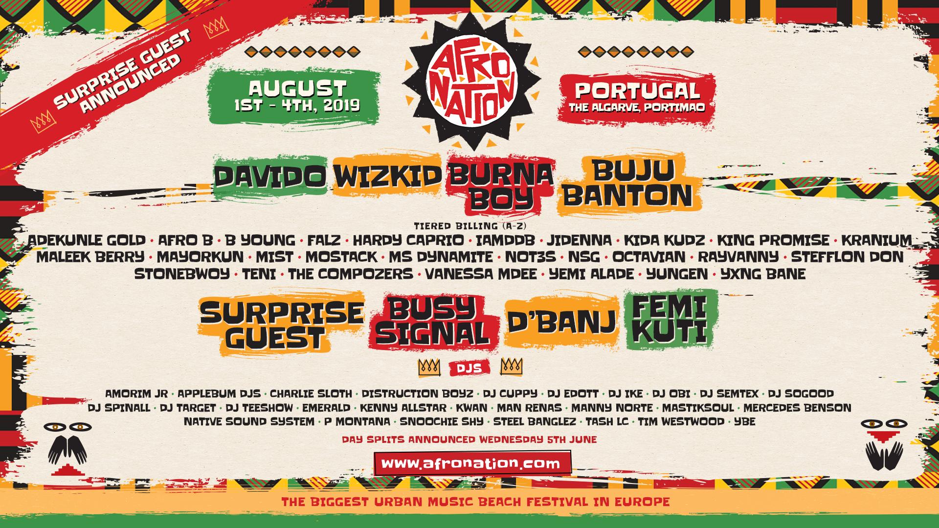 Afro Nation 2019 - Festicket