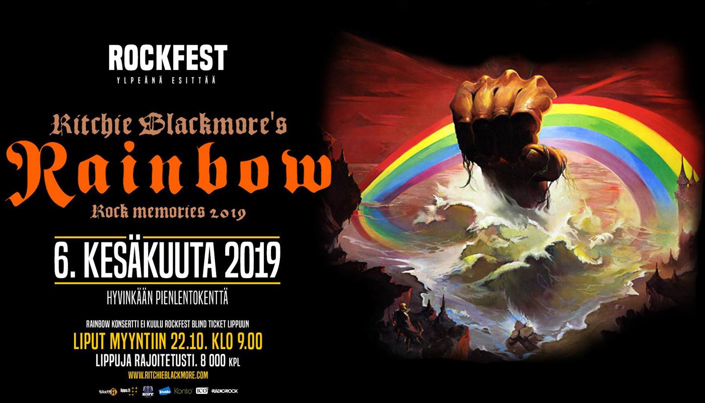 Ritchie Blackmore's Rainbow - Rock Fest 2019 Opening Concert - Festicket