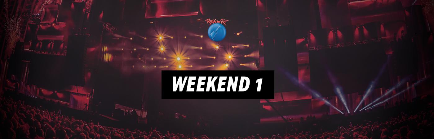 Weekend 1: Rock in Rio Ticket + Hotel Packages