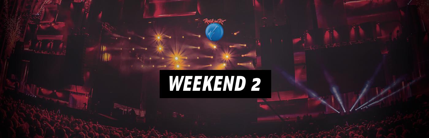 Weekend 2: Rock in Rio Ticket + Hotel Packages