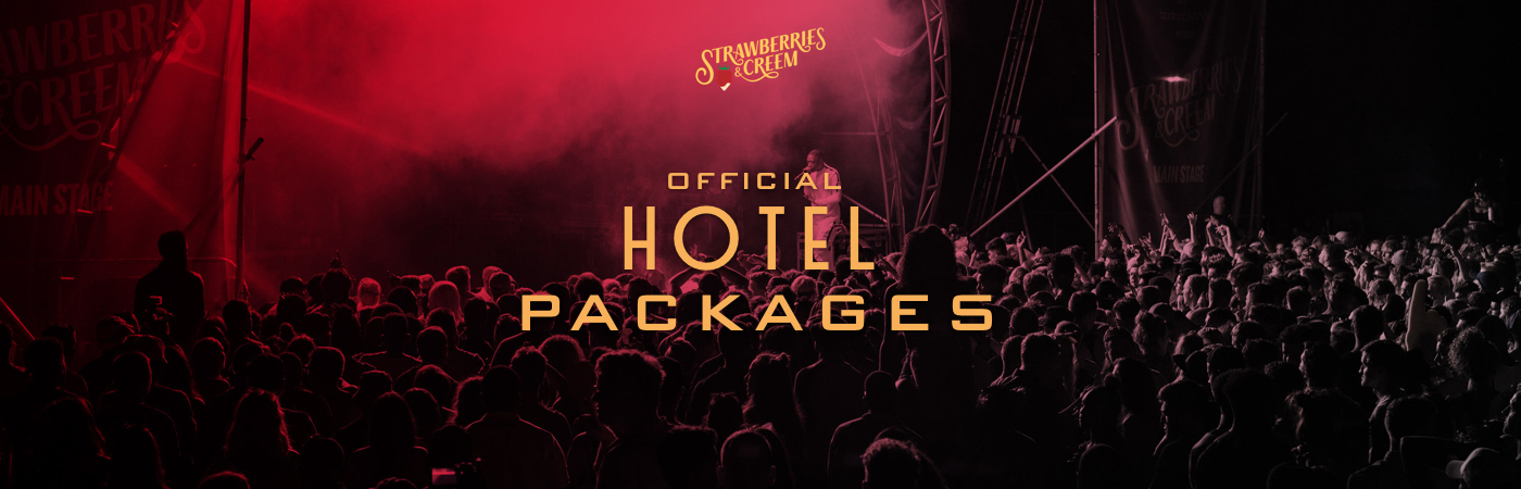 Strawberries & Creem Festival Ticket + Hotel Packages