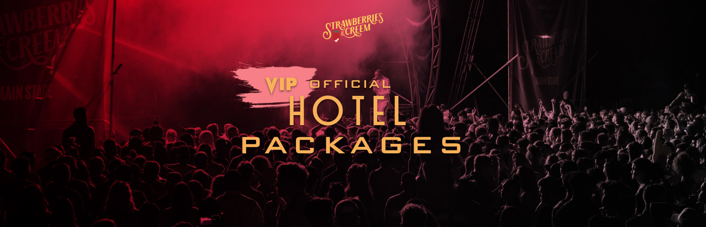 Strawberries & Creem Festival VIP Ticket + Hotel Packages