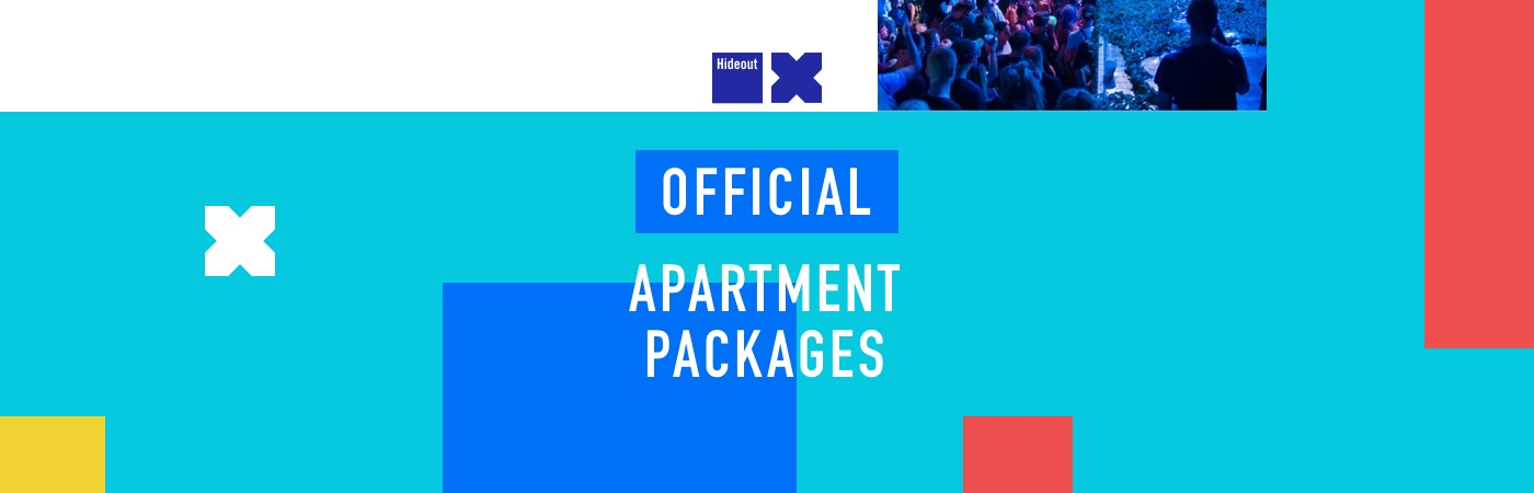 Hideout Ticket + Apartment Packages