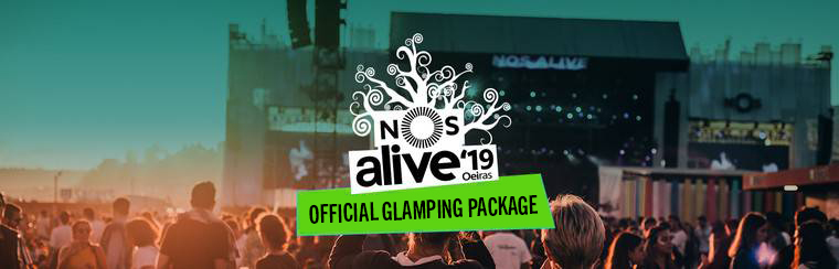 NOS Alive Ticket + Glamping Packages
