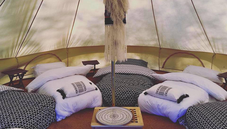 Ticket + Luxury Bell Tent @ Goatfest